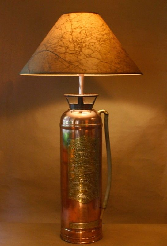 Do It Yourself: a Lamp with a Fire Extinguisher