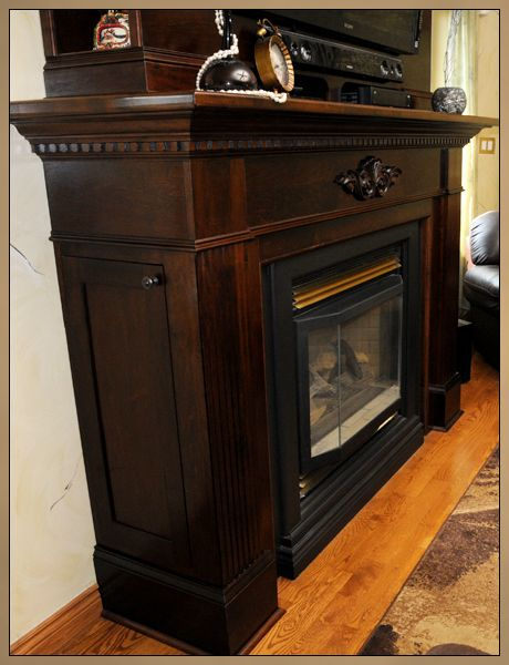 31 best TV over fireplace images on Pinterest   Tv over fireplace ...