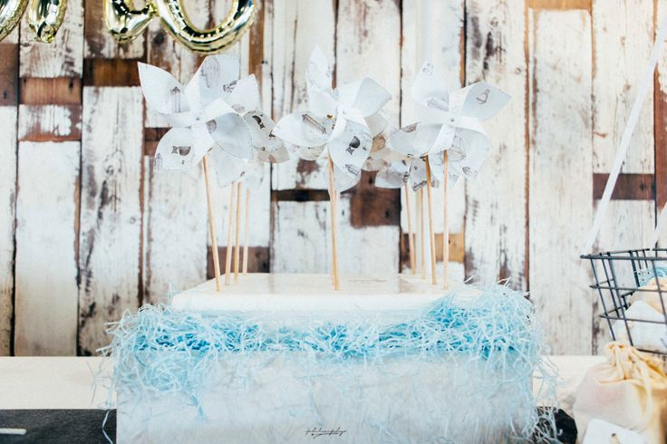 Home crafted paper windmills • The Lakehouse • Brightwater Hotel • Sunshine Coast • Sonny One • 1st Birthday • Jesse Purcell Photography •