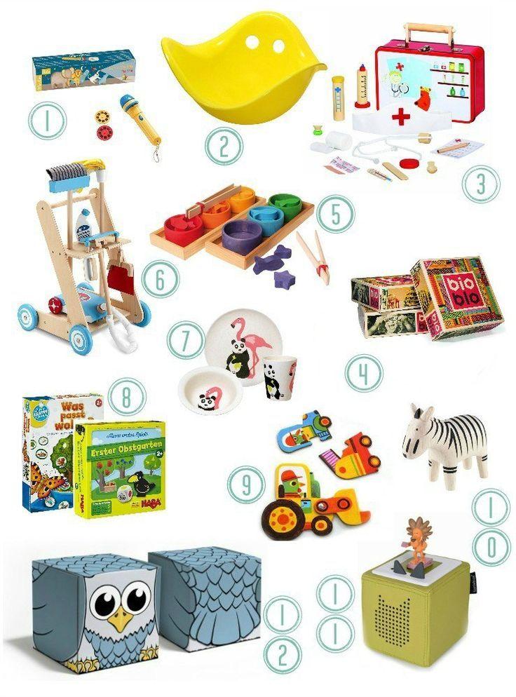 Außergewöhnliches & sinnvolles Holzspielzeug für 2 3 Jährige