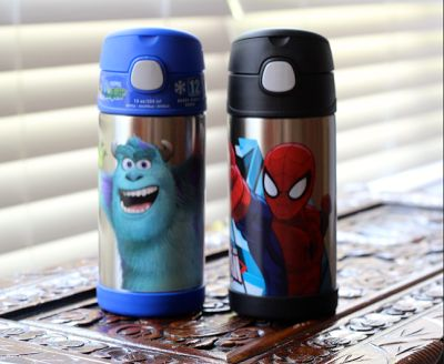 Monsters University and Spider-Man FUNtainer water bottles by Thermos - perfect for Back to School $15.99