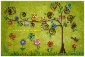 Resultado de imagen para carpetas decoradas con  quilling