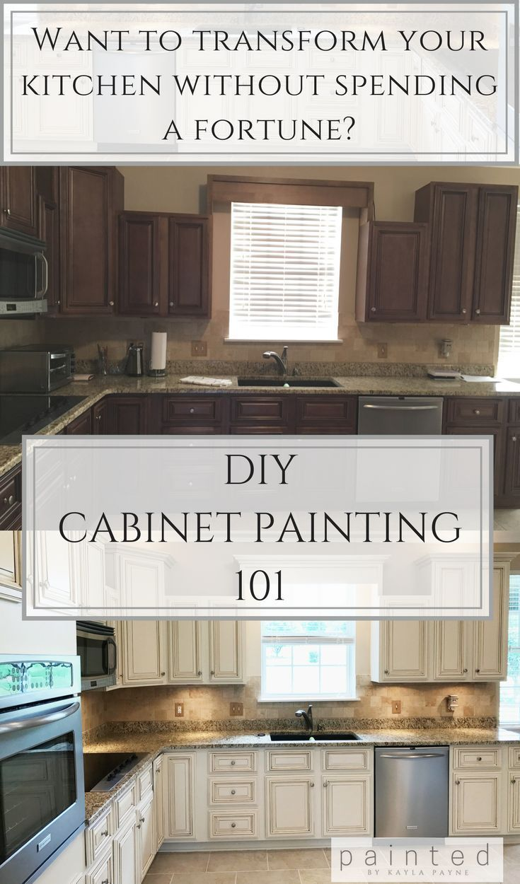 Are You Thinking Of Painting Your Kitchen Cabinets Read This First
