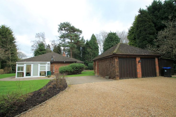 This wonderful detached bungalow is set in large mature grounds in a highly regarded road in Hook Heath. Located less than two miles from Woking which provides excellent shopping facilities as well as having popular restaurants, cinema, theatre and mainline train station