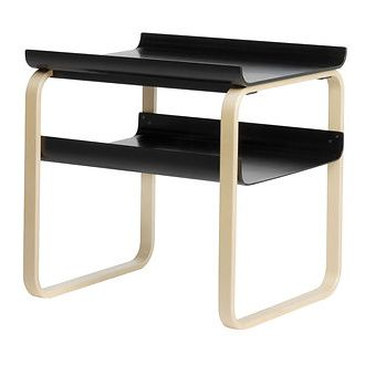 Alvar Aalto 915 Side Table - natural birch side table uses a simplistic design to create a table that is modern yet timeless.