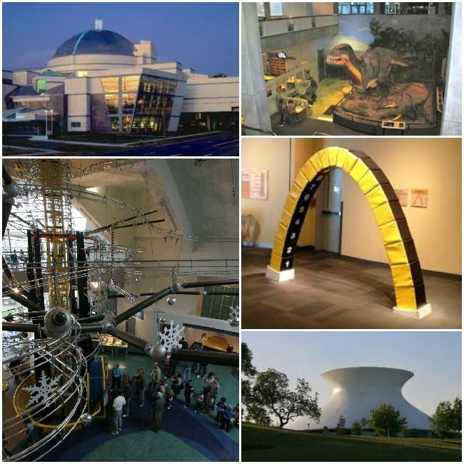 St. Louis Science Center Collage