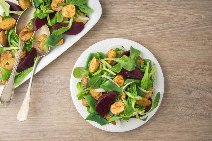 Salade de pommes de terre grenaille aux épices Lubéron
