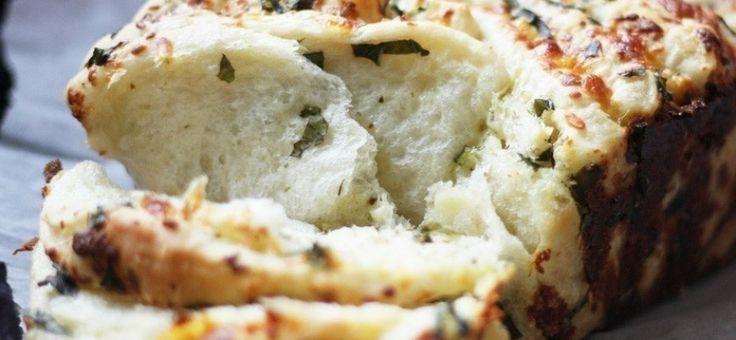 Una receta que combina lo mejor de las hierbas con la esponjosidad del pan y la cremosidad del queso.