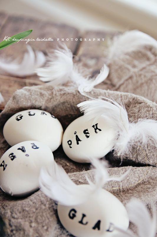 Koti kaupungin laidalla: Vähän vähissä nämä meidän pääsiäiskoristeet