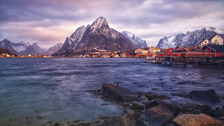 Afternoon sun in Reine by Hallgeir Nielsen on 500px