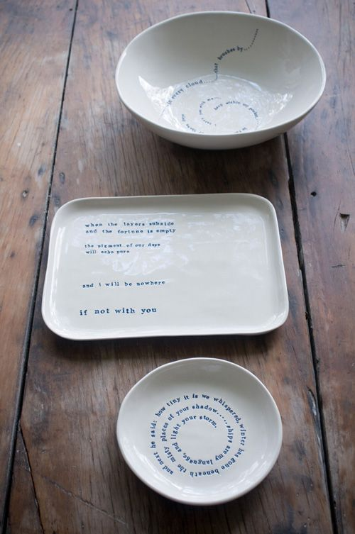 Kylie Johnson pottery. Anthropologie.