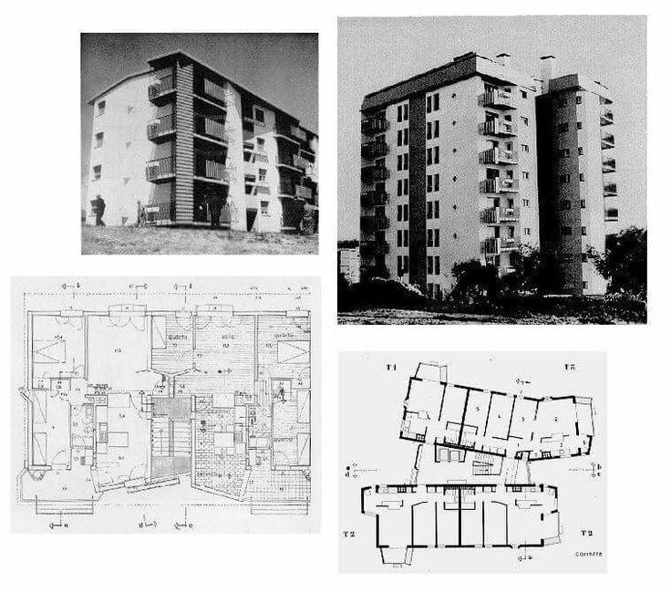 Habitação social para Olivais Norte Prémio Valmor 1968 Nuno Portas, Teotônio Pereira...