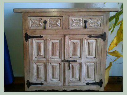 Aprende a tunear un mueble castellano muebles pinterest - Como pintar muebles antiguos ...