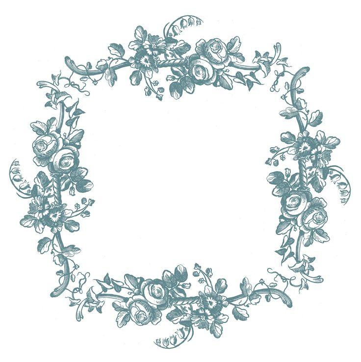 Vintage Clip Art - Engraved Roses - & Printable Labels - The Graphics Fairy #Printable #Vintage #Floral