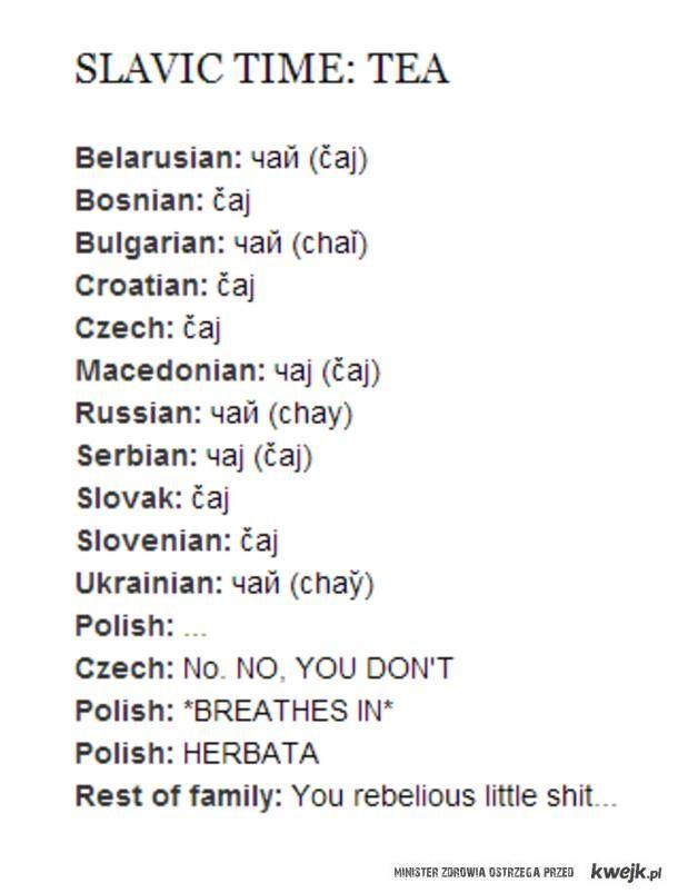 herbatrka po polsku