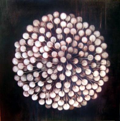Dandelion, 2004. Oil on Canvas