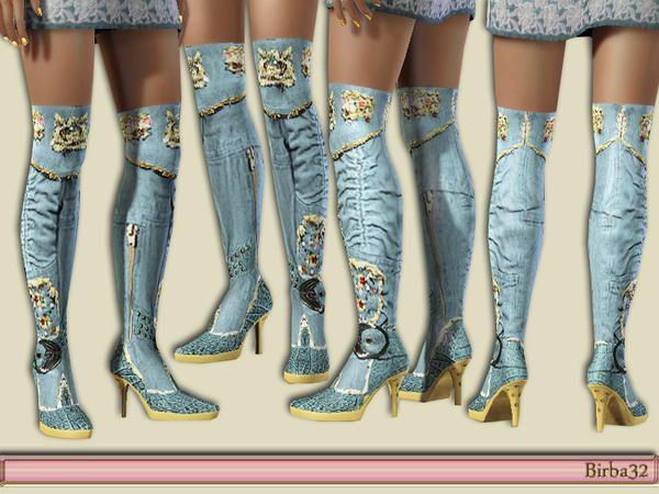 Birba32's Long Boots Jeans