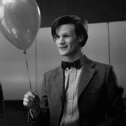 Le Docteur au ballon et nœud papillon