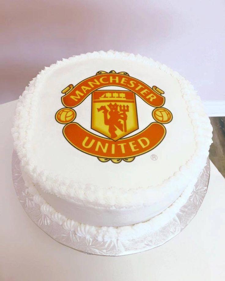 Manchester United Birthday Cake #DvasCakes