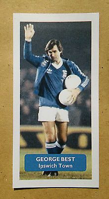 Manchester United / Ipswich Town (!) GEORGE BEST - Score UK trade card • £2.75