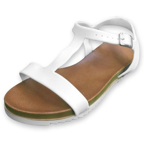 Women's Flat Ankle-Strap Sandals - Assorted Colors