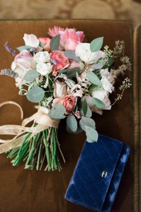 Colorful modern bouquet:  http://www.stylemepretty.com/new-york-weddings/new-york-city/2016/05/23/designer-dress-a-list-florist-celebrity-photographer-this-manhattan-wedding-is-a-must-see/ | Photography: Trent Bailey Studios - http://www.trentbailey.com/