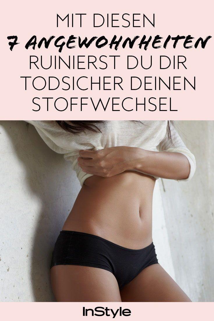 Ernährung: Mit diesen 7 Fehlern ruinierst du den Stoffwechsel