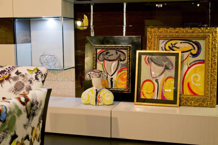 Composición de varias obras de la colección Tauromaquia