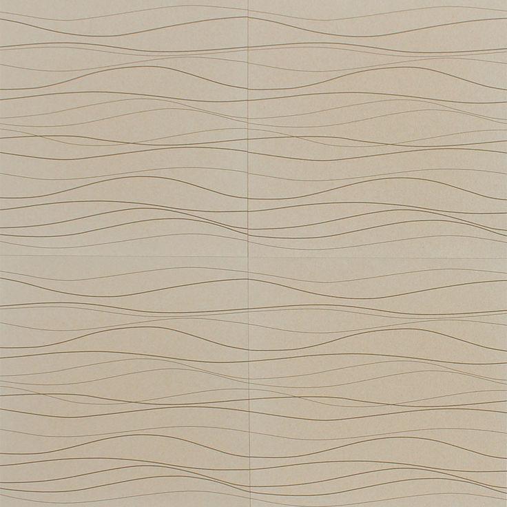 Designer Accent Cork Panel - White Rivers
