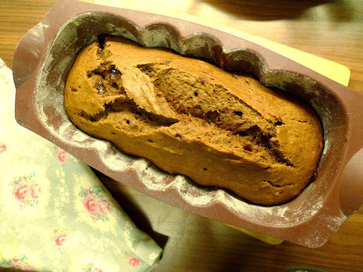 Ms. Blogger Eva: Banánový chlebík s třtinovým melasovým cukrem