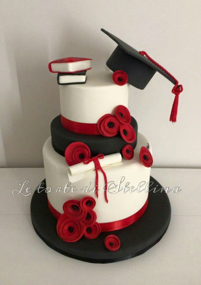 Beautiful grad cake