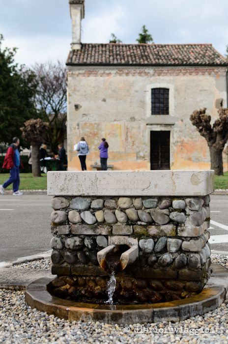 The fountain in Versutta, a small village of Casarsa, that was mentioned in many poems of Pier Paolo Pasolini