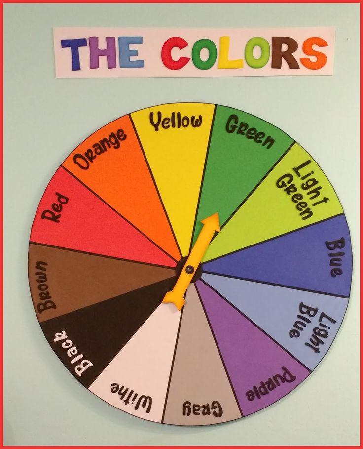 Adelantando los adornos para sala de clases del próximo año, todo en goma eva, días de la semana (110 cm. de largo), ruleta de colores en in...