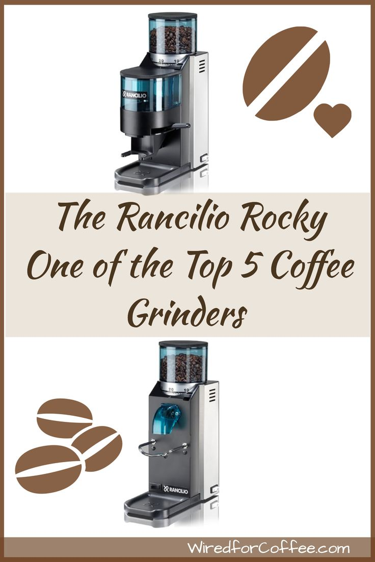 The Rancilio Rocky is one of the most popular coffee grinders on the market. Durable, reliable and a reputation for quality and long life. The Rocky gets great reviews from users AND vendors. For the home and some light commercial duty, Rancilio made a great entry level grinder that will last for years.