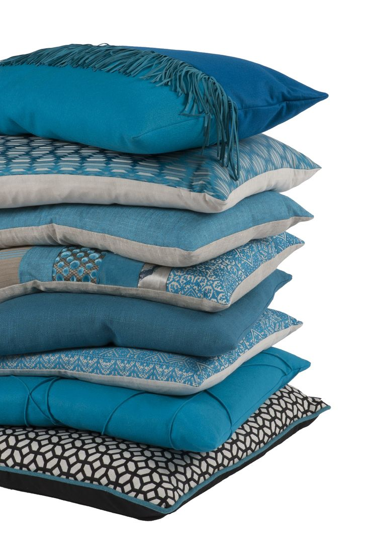 Meer dan 1000 ideeën over blauwe kussens op pinterest   gooi ...