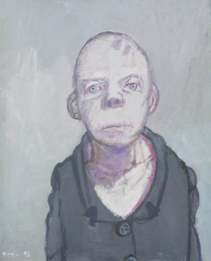 Jean Rustin (1928-2013), 'Veste verte', 1995, acrylic on canvas, 41 x 33 cm