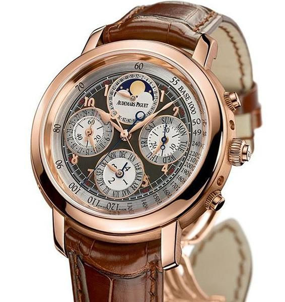 Audemars Piget Jules Audemars Grande Complication Rose Gold Men\'s Watch Product Details Product SKU : W-25866OR.OO.D088CR.02 Diameter: 42 Mm Color: Pink Band T