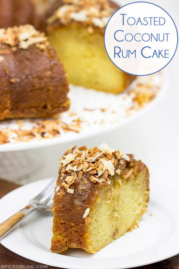 Rum cakes on Pinterest | Bacardi rum, Chocolate rum cake and Pecans ...
