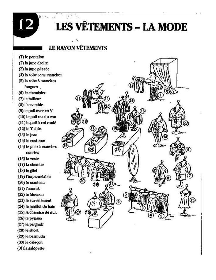 89 best images about Les vêtements on Pinterest