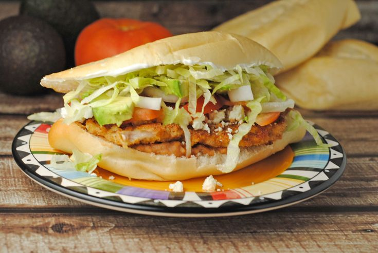 Torta de Milanesa (Pork Cutlet Sandwich) from @jen @ Juanita's Cocina #recipe #MexicanFood