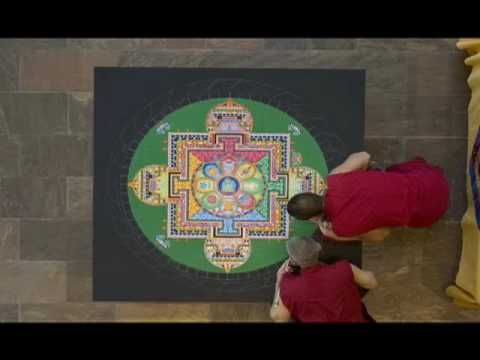 Time lapse Mandala  is there no end to the human desire to express oneself.....