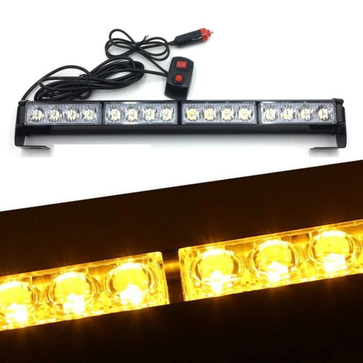 ==> [Free Shipping] Buy Best 12v 16 LED Strobe Light car Fireman Police Emergency Security Warning Fire Flashing light bar Daytime running lights lamp Online with LOWEST Price | 32815873760