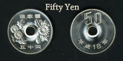 Curiosidades de las monedas japonesas.