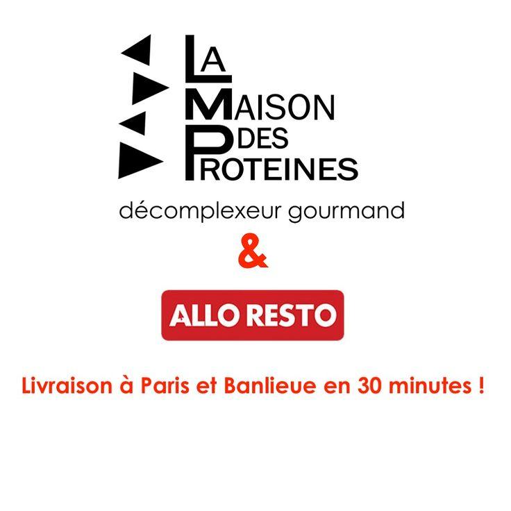 Livraison la Maison des Protéines avec AlloResto ! http://www.lamaisondesproteines.fr/blog/livraison-avec-alloresto #lamaisondesproteines #alloresto #minikif #minikiff #livraison #delivery #restaurant #dejeuner #healthyfood #diététique #bonneadresse #happy #new #food #deliveroo #ubereats #paris9