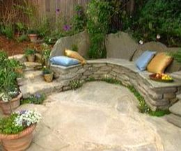 How to Make a Stone Bench