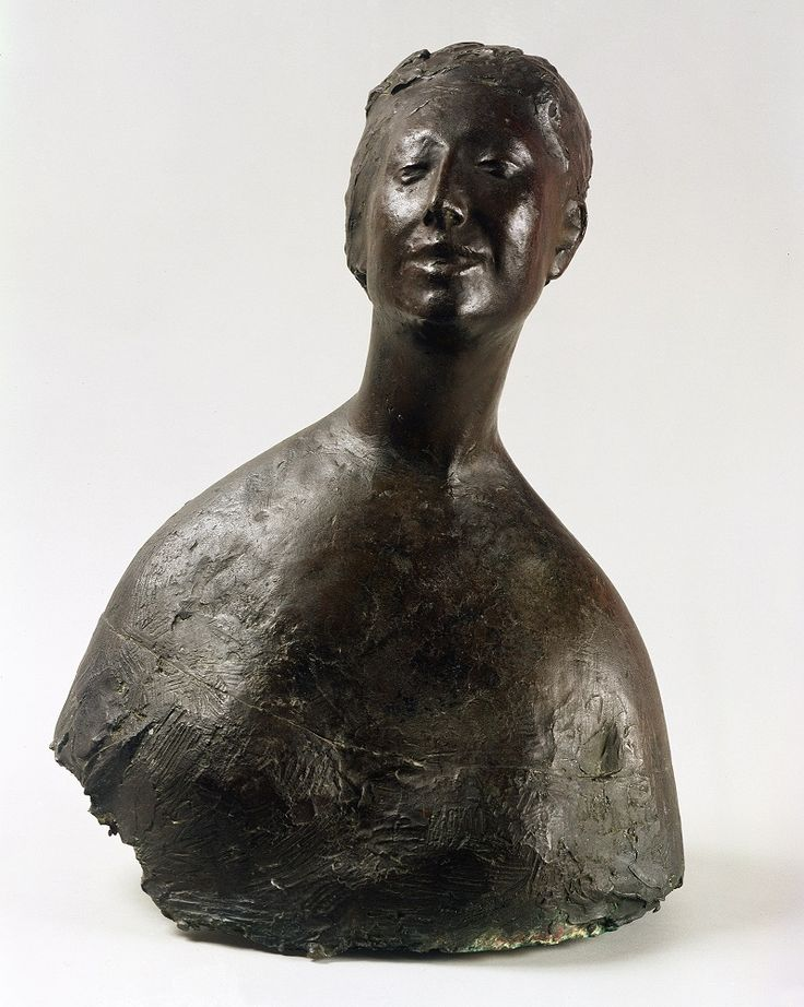 Giacomo Manzu, Bust of a Woman, 1952