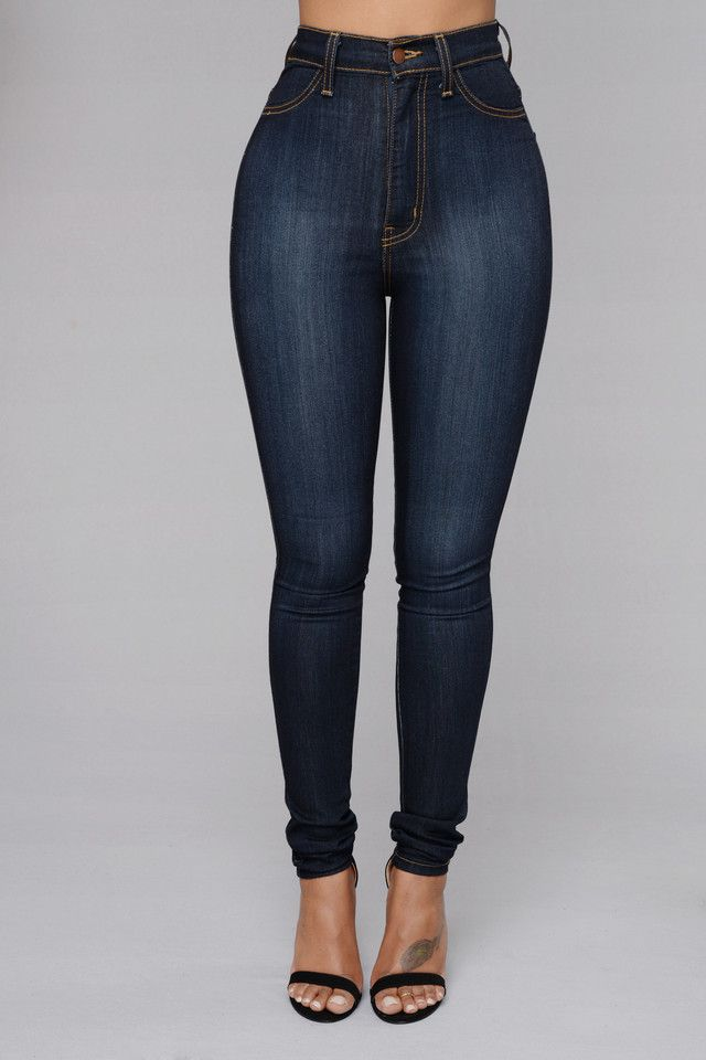 - Now Available in Plus Sizes! - High Waist - Skinny Jeans - 2 Back Pockets - Faux Front Pockets - Great Stretch - Made in USA - 49% Sirorayon 32% Cotton 17% Polyester 2% Spandex