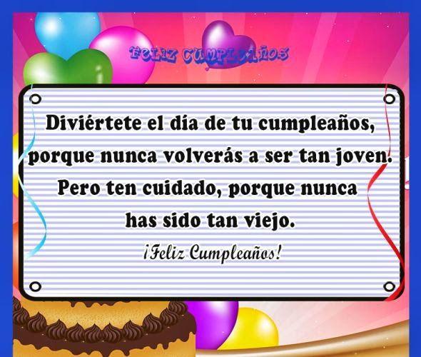 Dedicatorias de cumpleaños para usar en tarjeta de felicitacion