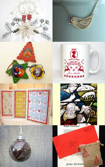 Only 28 days til Christmas! by Lisa Standley on Etsy--Pinned with TreasuryPin.com