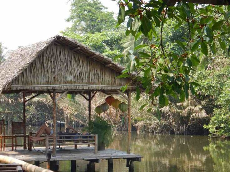 Binh Quoi Village in Saigon Vietnam. Ho Chi Minh City in Southeast Asia South Vietnam